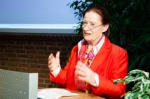"""Frau Prof. Dr. Gertrude Cepl-Kaufmann sprach über """"Türkischer Prometheus - Deutscher Prometheus. Zum Kultur- und Wissenstransfer zwischen Deutschland und der Türkei"""""""