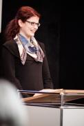 Nina Pferdmenges B.A., Teilnehmerin des Projektseminars, summierte den Ertrag des Lehrprojekts aus Sicht der Studierenden
