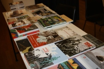"""Buchpräsentation zum Projekt """"1914 - Mitten in Europa"""" im Museum für Angewandte Kunst Köln. Foto: Burbass/LVR"""