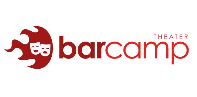 """Logo unseres BarCamps zu """"Theater in digitalen Räumen"""""""